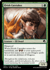 Elvish Caretaker