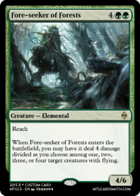 Fore-seeker of Forests