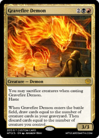 Gravefire Demon