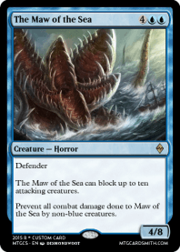 The Maw of the Sea