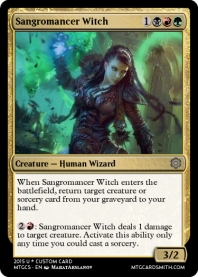 Sangromancer Witch