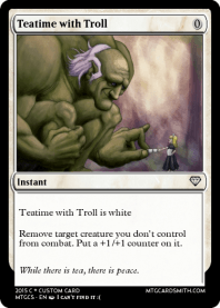 Teatime with Troll