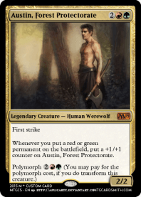 Austin, Forest Protectorate