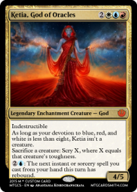 Ketia, God of Oracles