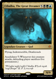 Cthulhu, The Great Dreamer