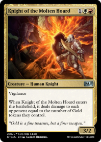 Knight of the Molten Hoard