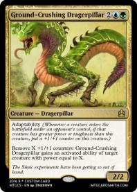 Ground-Crushing Dragerpillar