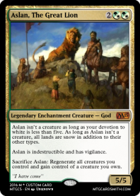Aslan, The Great Lion