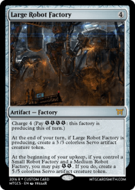 Large Robot Factory