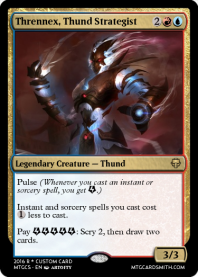 Thrennex, Thund Strategist