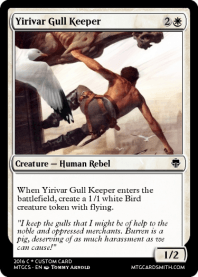 Yirivar Gull Keeper