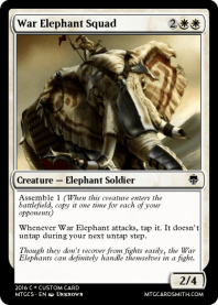 War Elephant Squad
