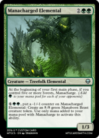 Manacharged Elemental