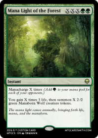 Mana Light of the Forest