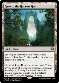 Gate to the Harvest God