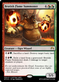 Brutish Flame Summoner