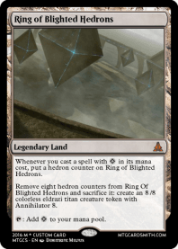 Ring of Blighted Hedrons