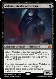 Malekai, Stealer of Dreams