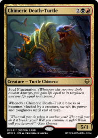 Chimeric Death-Turtle