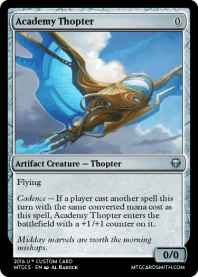 Academy Thopter