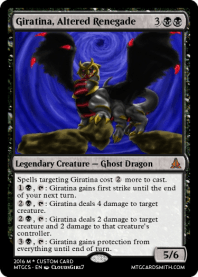 Giratina, Altered Renegade