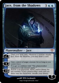 Jace, from the Shadows