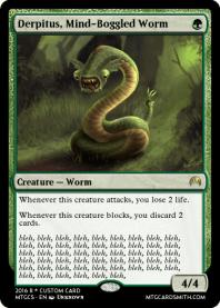 Derpitus, Mind-Boggled Worm