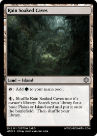 Rain Soaked Caves