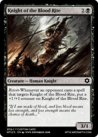 Knight of the Blood Rite