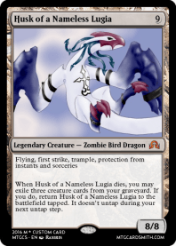 Husk of a Nameless Lugia