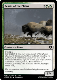Beasts of the Plains