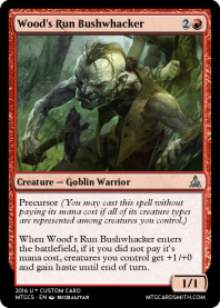 Wood's Run Bushwhacker