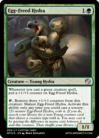 Egg-Freed Hydra