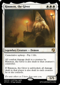 Rimmon, the Giver