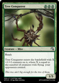 Tree Conquerer