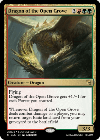 Dragon of the Open Grove