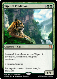 Tiger of Predation