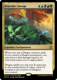 Draconic Lineage