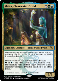 Meira, Clearwater Druid