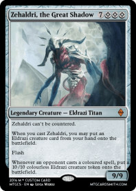Zehaldri, the Great Shadow