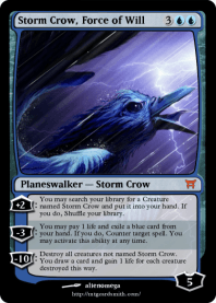 Storm Crow, Force of Will