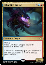 Cobaltfire Dragon