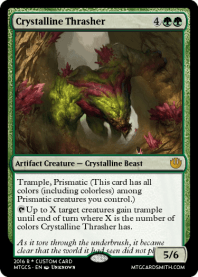 Crystalline Thrasher