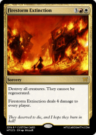 Firestorm Extinction