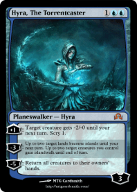 Hyra, The Torrentcaster