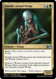 Spindle-Armed Womp