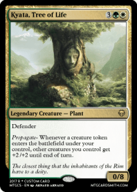 Kyata, Tree of Life
