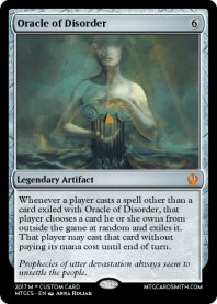 Oracle of Disorder