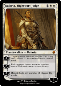 Dalaria, Highcourt Judge