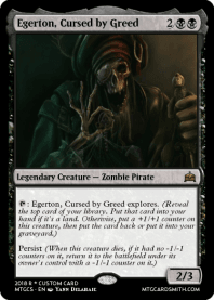 Egerton, Cursed by Greed